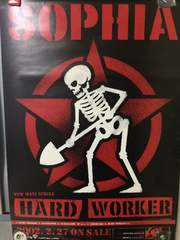 SOPHIA 「HARD WORKER」ポスター