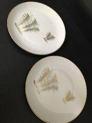 4701 深川製 中皿2枚 陶器