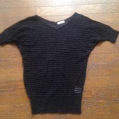 透け透けサマーセーター