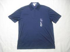 49 男 CK CALVIN KLEIN カルバンクライン ジップポロシャツ M