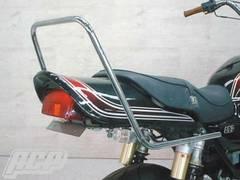 GSX400インパルス用 メッキロングタンデムバー