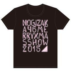 即決 乃木坂46 Tシャツ Merry X'mas Show 2015 _ ピンクver. S