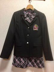 AKB風 フォーマルスーツ 165A  ピンク チェック美品 卒業式
