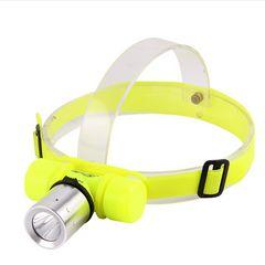 LED ヘッドライト  ダイビングライト 水中ライト  350LM
