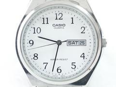 5589/CASIOカシオ★ラウンドクォーツモデルデイデイト機能搭載したメンズ腕時計