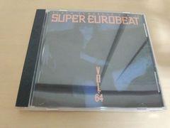 CD「スーパーユーロビート VOL.64 SEB SUPER EUROBEAT 64」●