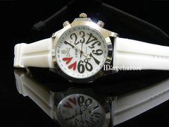 新品 定形外可能 腕時計 スカル ホワイト/ロエン好きに