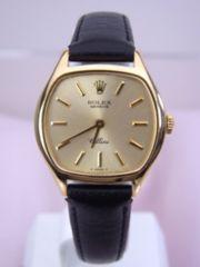 ROLEX ロレックス チェリーニ Cellini 手巻き 腕時計 女性用 美品★dot
