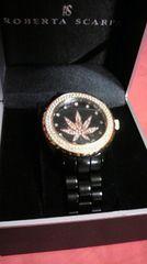 ROBERTA SCARPA B系ブリンブリンセラミックジルコニア時計マリファナセレブ
