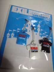 未開封EXILE携帯クリーナーストラップ3個セット TOUR2010