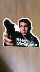 スティーブ マックイーン ブリット シール ステッカー 大脱走 荒野の七人 未使用品