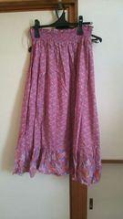 ユニクロ*ロングマキシスカート大きいサイズ