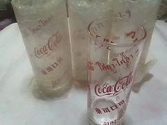 コカ・コーラグラス4個