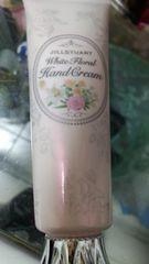 ジルスチュアートホワイトフローラルハンドクリーム美品