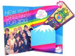 AAA PARTY●グリーティングカード●NEW YEAR 2012●残1