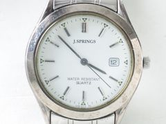 8931/J.SPRINGS爽やかなホワイトダイヤルメンズ腕時計★お洒落です