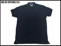 新 【紺色-3XLT】 Bruno Newyork シャツ 人気大きいサイズ