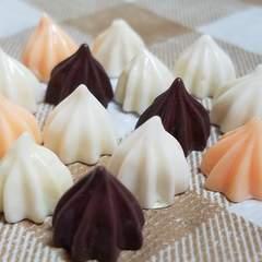 106 C ☆ 14 コ ( 3 色 ) チョコレート ☆ 約 1.8 cm ☆ デコパーツ