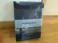 未使用 BURBERRY バーバリー メンズ ボクサー パンツ 紳士 グレ