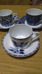 YUKIKO Hanaiコーヒーカップ3セット