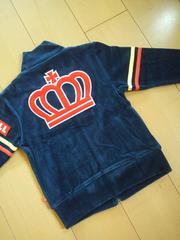 新品胸ラインポケジャケット110紺ベビドBABYDOLLベビードール