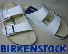 ビルケンシュトック新品アリゾナARIZONA051731ホワイト41