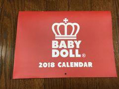 ★BABY DOLL★2018年カレンダ-