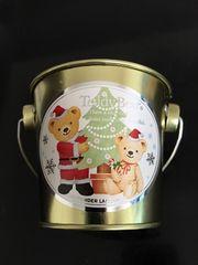 新品〈Teddy Bear〉テディベアクリスマスBucketミニ(5個set)