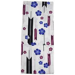 女性用 浴衣 4L〜5L 大きいサイズ 白60892-60894