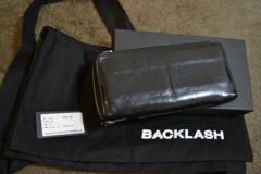 backlashバックラッシュ GUIDIコードバンラウンドジップウォレット