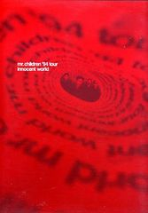 Mr.Children '94 tour innocent world ツアーパンフレット