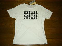 新品rebellion-opsリベリオンオプスTシャツ白5星☆カットソーAKM