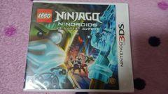 3DS レゴ ニンジャゴー ニンドロイド ビニール未開封 新品