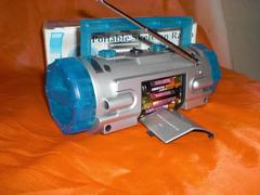 新品未使用 ポータブル ラジオ 電池式 携帯用