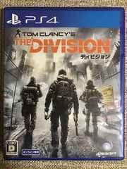 ディビジョン 美品 PS4 THE DIVISION