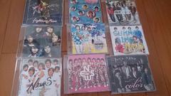 NEWS☆アルバム[color]1枚、シングル8枚 セット まとめ売り