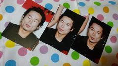 中古 三上博史さん写真3枚セット