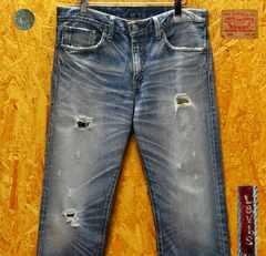 ◆廃盤◆リーバイス505ローライズカスタマイズW32・股下80cm