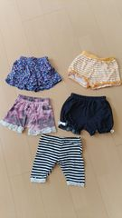 美品*夏物!スカート&ショーパン5点セット