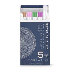 5風味 電子タバコ 使い捨て 500回/本