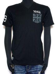 新品正規NortonユニオンジャックTシャツ刺繍アメカジバイカー