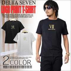 メール便送料無料【DELTA】Tシャツ70677新品黒金M