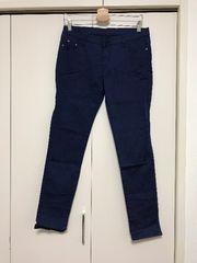 新品 ストレッチ スキニー パンツ 大きいサイズ LL 3L ネイビー