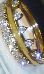 【et toi】K18YGエトワ極上VSクラスのダイヤ0.17ctリング