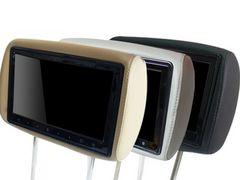 10.1インチヘッドレストモニター(レザー・左右)ベージュ