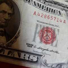 希少なリンカーン5ドル札