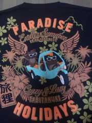 ☆新品[旅狸]オート三輪パラダイスホリディ 半袖Tシャツ スカジャン好きにも