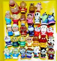 ■【アンパンマン】ソフビ人形32個