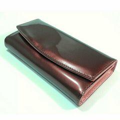 【たくさん入って長持ち♪】長財布(ブラウン×ピンク)