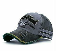 ヴィンテージ風 ダメージキャップ 帽子